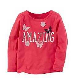 Carter's® Girls' 2T-8 Amazing Butterfly Tee