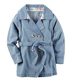 Carter's® Girls' 2T-6X Denim Coat