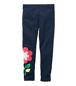 Carter's® Girls' 2T-8 Flower Leggings
