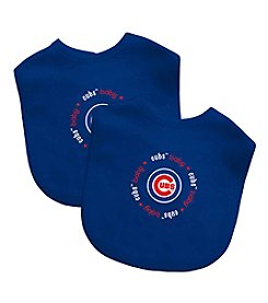 Baby Fanatic MLB Chicago Cubs Baby 2-Pack Bibs