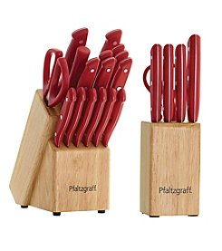 Pfaltzgraff® 17-Pc. Triple Rivet Cutlery Set with 6-pc. Bonus Prep Set