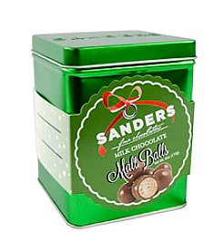 Sanders® Holiday Tin Of Milk Chocolate Malt Balls