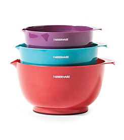Farberware® Set of 3 Mixing Bowls