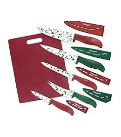 Pfaltzgraff® 11-pc. Winterberry Cutlery And Board Set