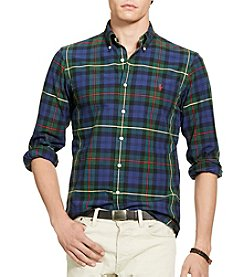 Polo Ralph Lauren® Men's Plaid Oxford Sport Shirt