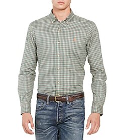 Polo Ralph Lauren® Men's Plaid Twill Shirt