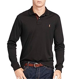 Polo Ralph Lauren® Men's Long Sleeve Pima Soft-Touch Polo Shirt