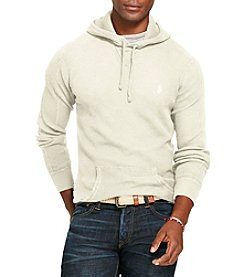 Polo Ralph Lauren® Men's Waffle-Knit Cotton Hoodie