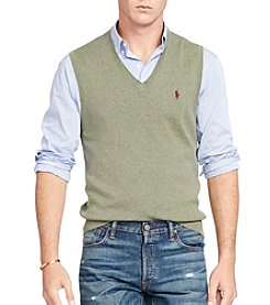 Polo Ralph Lauren Men's Pima Cotton V-Neck Vest