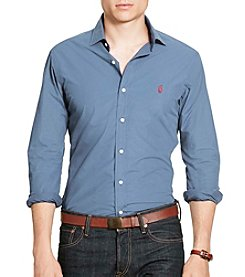 Polo Ralph Lauren® Men's Cotton Poplin Sport Shirt