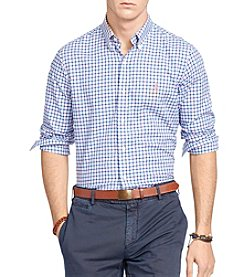 Polo Ralph Lauren® Men's Plaid Twill Sport Shirt