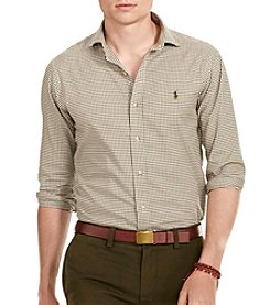 Polo Ralph Lauren® Men's Slim-Fit Checked Twill Shirt