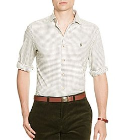 Polo Ralph Lauren® Men's Slim Checked Cotton Shirt