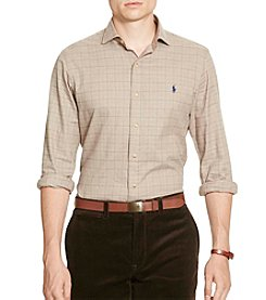 Polo Ralph Lauren® Men's Slim Plaid Cotton Twill Shirt