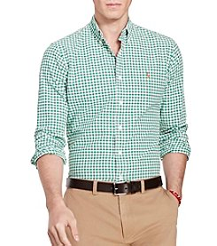 Polo Ralph Lauren® Men's Gingham Cotton Oxford Shirt