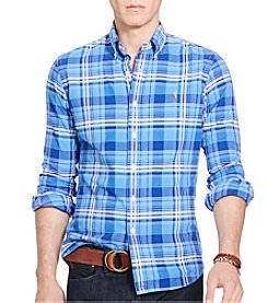 Polo Ralph Lauren® Men's Plaid Oxford Shirt