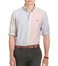 Polo Ralph Lauren® Men's Patterned Oxford Shirt