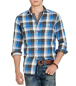 Polo Ralph Lauren® Men's Matlock Plaid Cotton Twill Workshirt