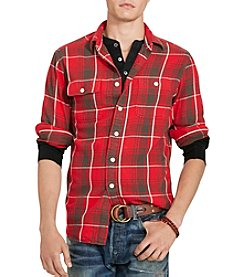 Polo Ralph Lauren® Men's Dungaree Plaid Twill Workshirt