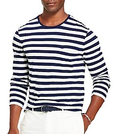 Polo Ralph Lauren® Men's Long Sleeve Striped Tee