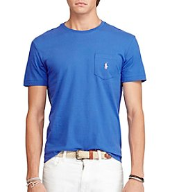Polo Ralph Lauren® Men's Short Sleeve Standard Fit Pocket Tee