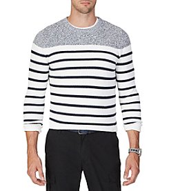 Nautica® Men's Breton Stripe Sweater