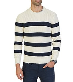 Nautica® Men's Stripe Crew Neck Sweater