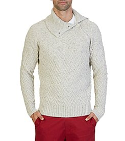 Nautica® Men's Raglan Turtleneck Sweater