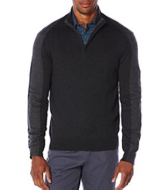 Perry Ellis® Men's 1/4 Zip Sweater