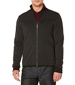 Perry Ellis® Men's Mixed Media Jacket