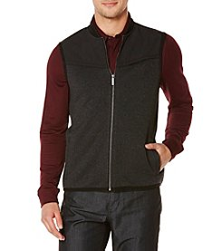 Perry Ellis® Men's Mixed Media Vest