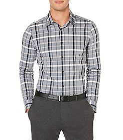 Perry Ellis® Men's Long Sleeve Slim Fit Shade Button Down Shirt