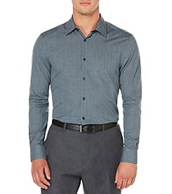 Perry Ellis® Men's Long Sleeve Checked Button Down Shirt
