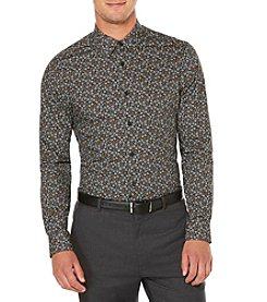 Perry Ellis® Men's Long Sleeve Stormy Floral Button Down Shirt