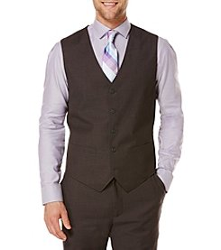 Perry Ellis® Men's Tonal Check Vest