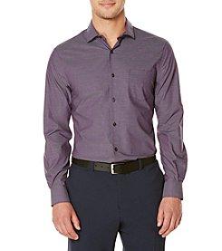 Perry Ellis® Men's Long Sleeve Vertex Button Down Shirt