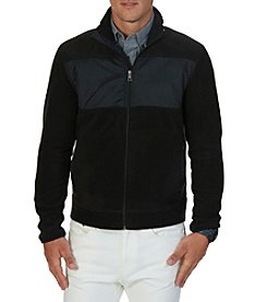 Nautica® Men's Full Zip Mock Neck Fleece