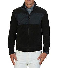 Nautica® Men's Full Zip Mock Neck Fleece