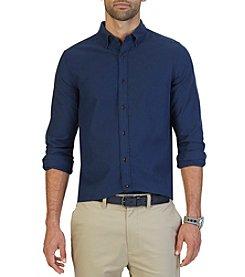 Nautica® Men's Long Sleeve  Stratford Moleskin Button Down Shirt