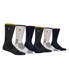 Polo Ralph Lauren® Men's 3-Pack Active Socks
