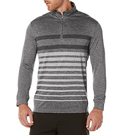 PGA TOUR® Men's 1/4 Zip Printed Brush Pullover