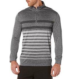 PGA TOUR® Men's 1/4 Zip Printed Brush Pullover