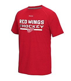 Reebok® NHL® Detroit Red Wings Men's Authentic Locker Room Short Sleeve Tee