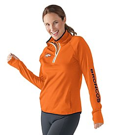 G III NFL® Denver Broncos Women's Interval 1/2 Zip Pullover