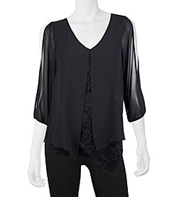 A. Byer Lace Layer Top