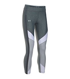 Under Armour® Colorblock Ankle Crop Leggings