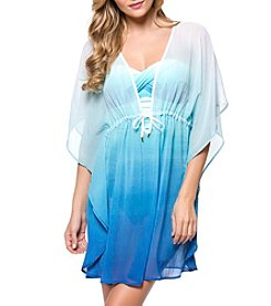 Bleu|Rod Beattie® Ombre Caftan