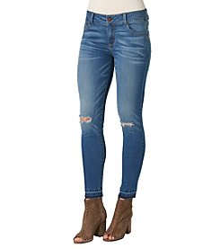 Democracy Destructed Hem Ankle Jeans