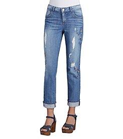 Democracy Cropped Girlfriend Jeans