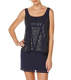 Laundry by Shelli Segal® Beaded Popover Dress